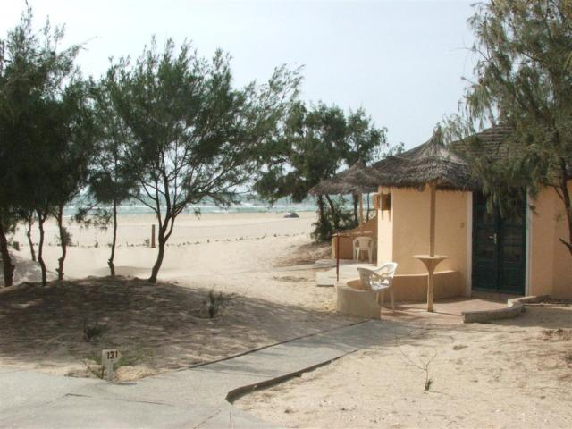 "Our ""hut"" on thebeach!"